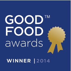Good Food Awards Winner Seal 2014